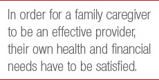 Why We Must Care For Family Caregivers