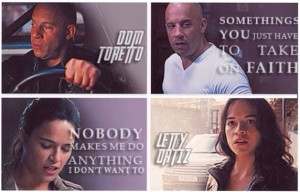 ️Letty Ortiz & Dom Toretto ️ Letty Quotes, Win Win, Furious ...