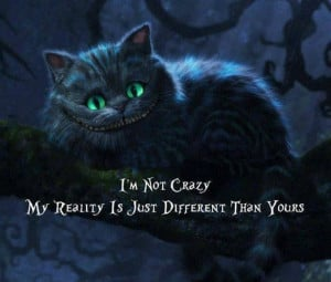 The Cheshire Cat. Someday I want to get a tattoo of this!