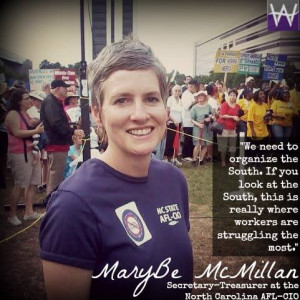 MaryBe McMillan on why unions matter