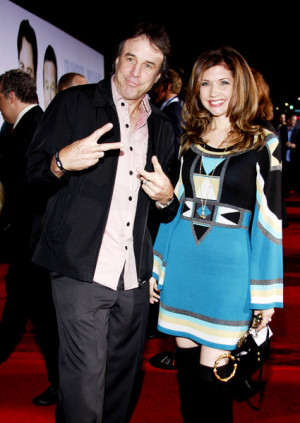 Kevin Nealon and his wife Susan Yeagley arrive on the red carpet at ...
