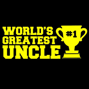 Details about T-SHIRT - WORLDS GREATEST UNCLE Tee Mens aunt funny love ...