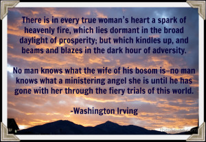 Washington Irving Quote - therhouse.com