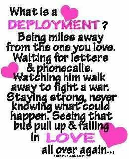what is a deployment?.....there is nothing more exciting than seeing ...