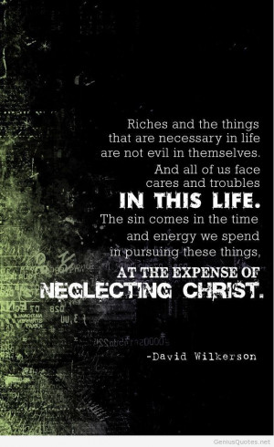 LOVE me some David Wilkerson quotes