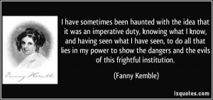 More Fanny Kemble Quotes