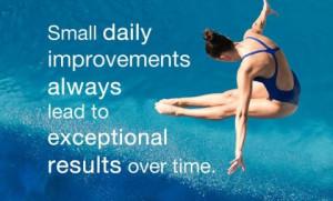 Sunday Stimulus - Small daily improvements
