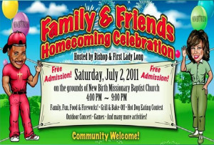 The Old Black Church!: Family And Friends Day.