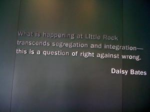 Daisy Bates Little Rock