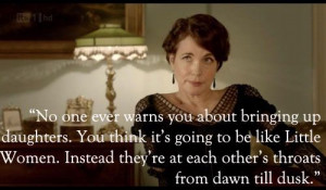 DOWNTON ABBEY •Elizabeth McGovern is Cora Crawley, Countess of ...