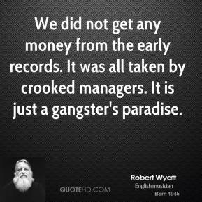 gangster quotes about money