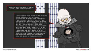 Dick Cheney And Darth Vader