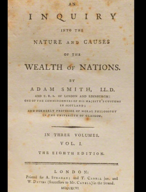 Adam Smith Wealth Of Nations Wealth of nations with: moral