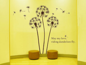 File Name : blowing-dandelions-wall-design-sticker-with-wall-quotes ...