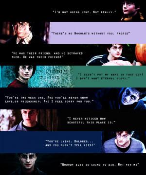 Harry James Potter (favorite movie quotes)