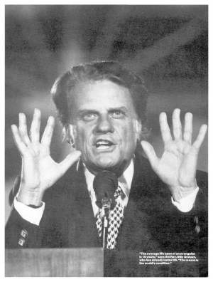 Billy Graham Reveals the Source of Bible Authority!