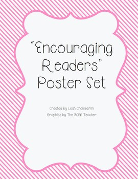Reading Posters Encouraging Reading Quotations
