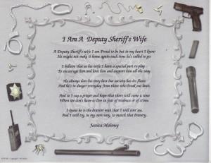 Police Officer Wife Poem...