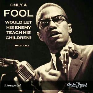 ... MLK, Malcom X and Fred Hampton? Who really railroaded Marcus Garvey
