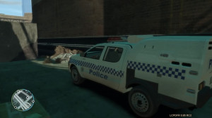 ve also got a QLD Divi Van, Toyota Hilux