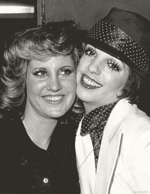 Lorna Luft and Liza Minnelli