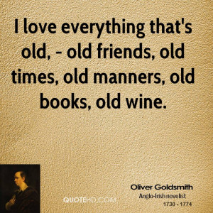 Oliver Goldsmith Love Quotes