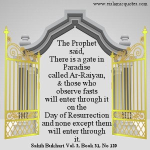 Islamic quote on fasting