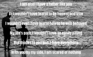 Thank You Poem For dad From A