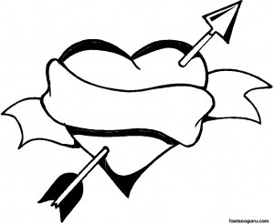 valentines coloring pages for teens | Colors Hearts And Quotes Teen. QuotesGram