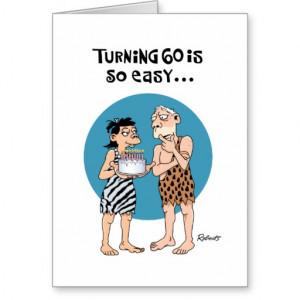 Turning 60 Birthday Card