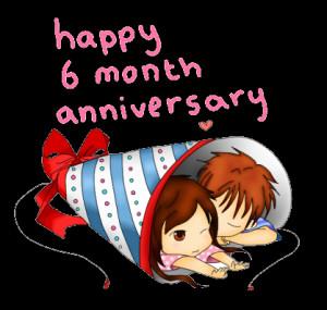 Happy 6 Month Anniversary by SteffieSilva