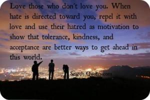Love Tolerance Quotes