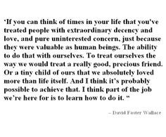 David Foster Wallace More