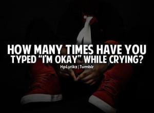Im okay