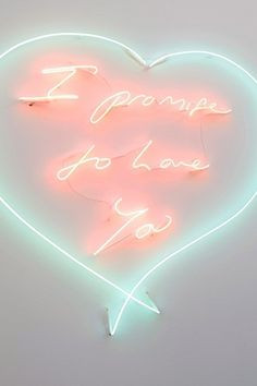 promise to Love You... Tracey Emin More