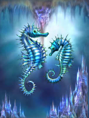 The Wonderful Creation Of The Sea Horse - god-the-creator Fan Art