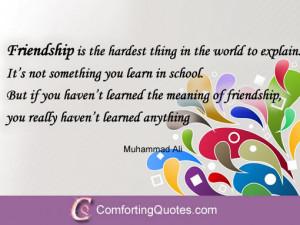 friendship quote inspirational true friendship image quote friendship ...