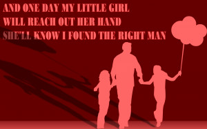 The Right Man - Christina Aguilera Song Lyric Quote in Text Image