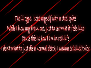 Shady - Eminem Song Lyric Quote in Text Image