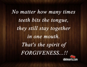 No Matter How Many Times Teeth Bits the Tongue,they Still stay ...