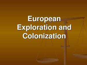 European Exploration And