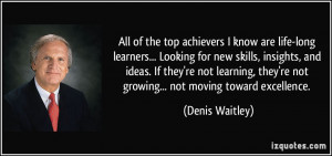 All of the top achievers I know are life-long learners... Looking for ...