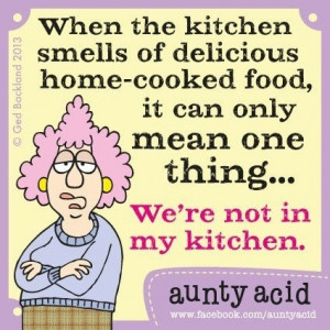 Aunty Acid - Only my version would end with