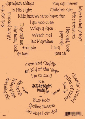 Scrapbook Quotes and Sayings http://www.ebay.com.au/itm/Scrapbook ...