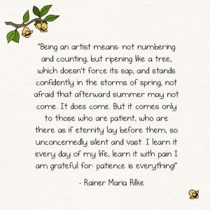 Rainer Maria Rilke - one of, like, a thousand things he wrote that ...