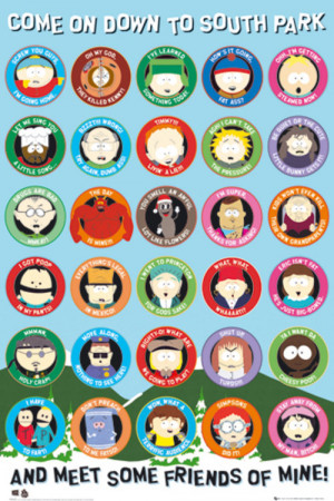 poster south park quotes € 4 82 0 00 out of 5 stars aun no hay ...