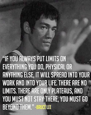 bruce lee inspirational business quote