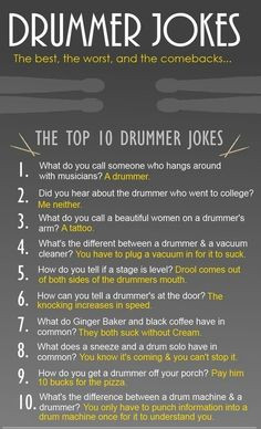 ... musicians quotes random funny bass drummers humor drummers jokes