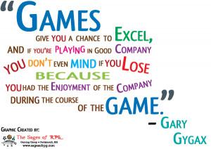 Gary Gygax – Take a moment to reflect
