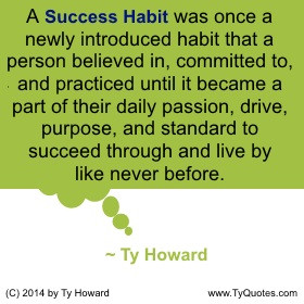 Ty Howard on Habits, Quotes for Teachers, Quotes on habits, Quotation ...